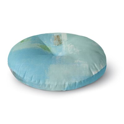 CarolLynn Tice Announced Round Floor Pillow Size: 23 x 23
