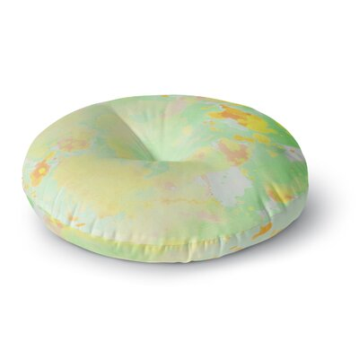 CarolLynn Tice Catch Painting Round Floor Pillow Size: 26 x 26