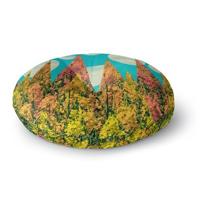 Cvetelina Todorova Day Geometric Round Floor Pillow Size: 26 x 26