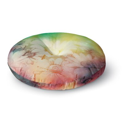 Cvetelina Todorova Magic Garden Mixed Media Round Floor Pillow Size: 26 x 26