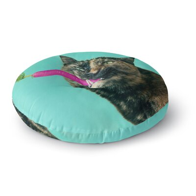 Cvetelina Todorova The Carrot Photography Round Floor Pillow Size: 23 x 23