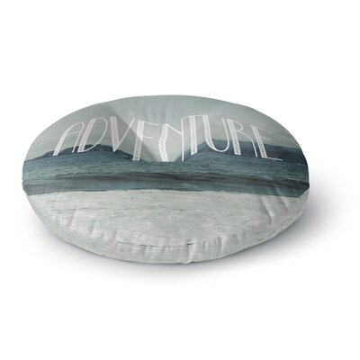 Chelsea Victoria Adventure Photography Round Floor Pillow Size: 23 x 23