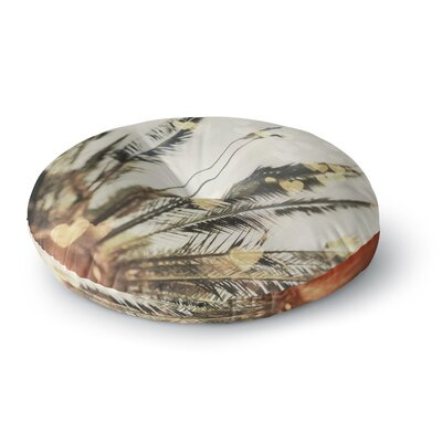 Chelsea Victoria California Love Bokeh Nature Round Floor Pillow Size: 26 x 26