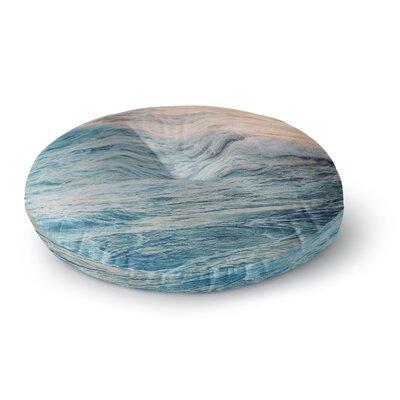 Chelsea Victoria Sherbert Ocean Nature Round Floor Pillow Size: 26 x 26