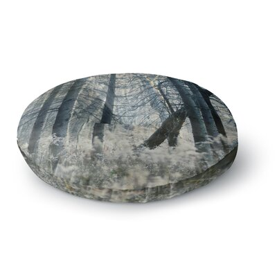 Chelsea Victoria out of the Woods Nature Photography Round Floor Pillow Size: 26 x 26