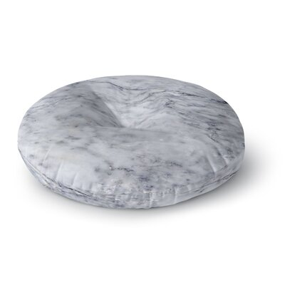 Chelsea Victoria Marble Round Floor Pillow Size: 23 x 23