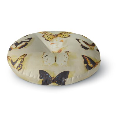 Chelsea Victoria The Butterfly Collection Photography Round Floor Pillow Size: 23 x 23