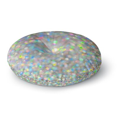 Chelsea Victoria Sparks Fly Digital Round Floor Pillow Size: 26 x 26