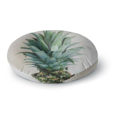 Chelsea Victoria The Pineapple Round Floor Pillow Size: 26 x 26