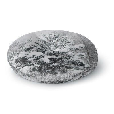 Chelsea Victoria Cool Yule Nature Photography Round Floor Pillow Size: 26 x 26