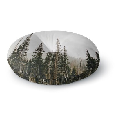 Chelsea Victoria Top of the Mountain Photography Round Floor Pillow Size: 26 x 26