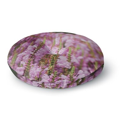 Chelsea Victoria Summer Blush Photography Round Floor Pillow Size: 23 x 23