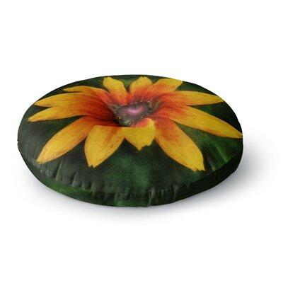 Ginkelmier Wildflower in Sun Photography Round Floor Pillow Size: 26 x 26