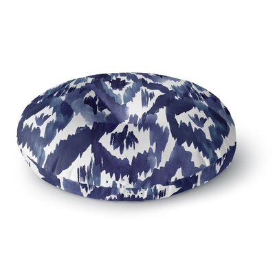 Crystal Walen Ikat Diamond Round Floor Pillow Size: 23 x 23