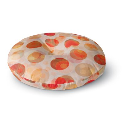 Daisy Beatrice Shepherds Delight Round Floor Pillow Size: 23 x 23