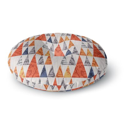 Daisy Beatrice Tepee Town Round Floor Pillow Size: 26 x 26