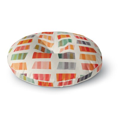 Daisy Beatrice Beach Towels Round Floor Pillow Size: 26 x 26