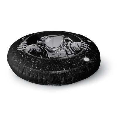 Digital Carbine Hole Fantasy Digital Round Floor Pillow Size: 26 x 26