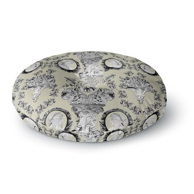 DLKG Design Imperial Palace Round Floor Pillow Size: 26 x 26