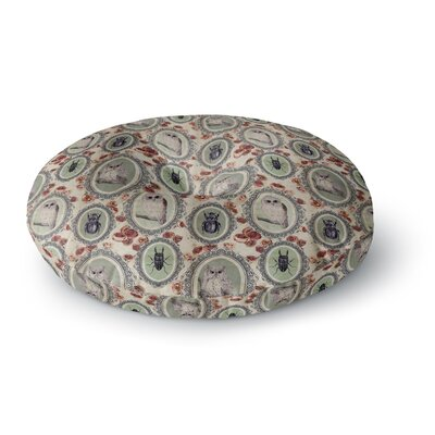 DLKG Design Camafeu Beetles Round Floor Pillow Size: 23 x 23