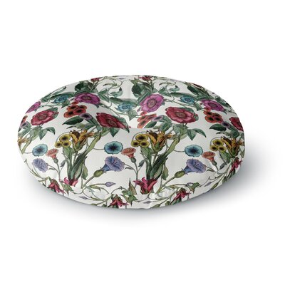 DLKG Design Margaret Round Floor Pillow Size: 26 x 26