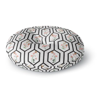 DLKG Design Eden Round Floor Pillow Size: 26 x 26