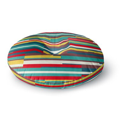 Danny Ivan Blowmind Round Floor Pillow Size: 23 x 23