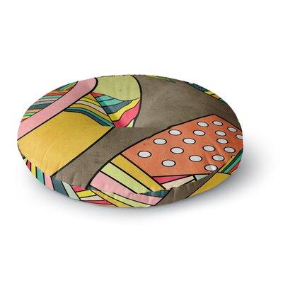 Danny Ivan Cosmic Aztec Round Floor Pillow Size: 23 x 23