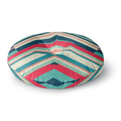 Danny Ivan Goodnight Nobody Round Floor Pillow Size: 23 x 23