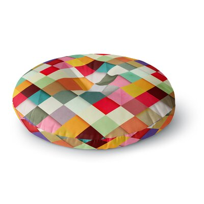 Danny Ivan Pass This on Round Floor Pillow Size: 26 x 26