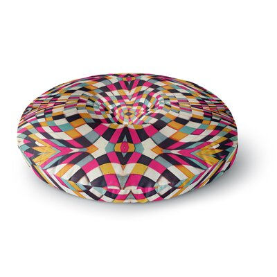 Danny Ivan Rebel Ya Round Floor Pillow Size: 26 x 26