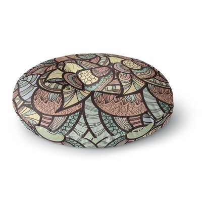 Danny Ivan Wild Run Round Floor Pillow Size: 26 x 26