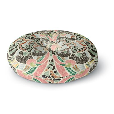 Danny Ivan Too Much Round Floor Pillow Size: 23 x 23