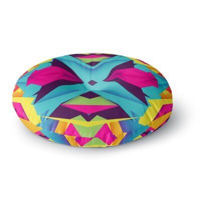 Danny Ivan The Youth Round Floor Pillow Size: 26 x 26