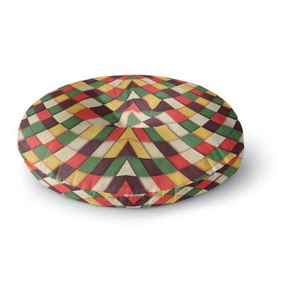 Danny Ivan Rastafarian Tile Round Floor Pillow Size: 26 x 26
