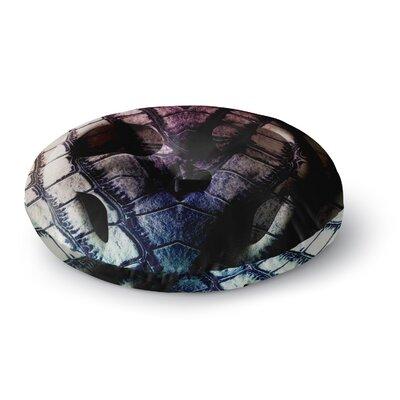 Danny Ivan Skull Round Floor Pillow Size: 23 x 23