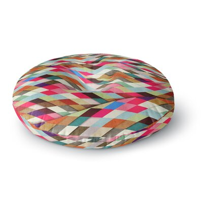 Danny Ivan Ado Art Object Round Floor Pillow Size: 23 x 23