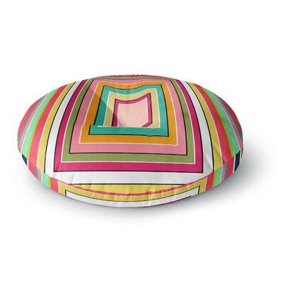 Danny Ivan Floor Pattern Round Floor Pillow Size: 26 x 26