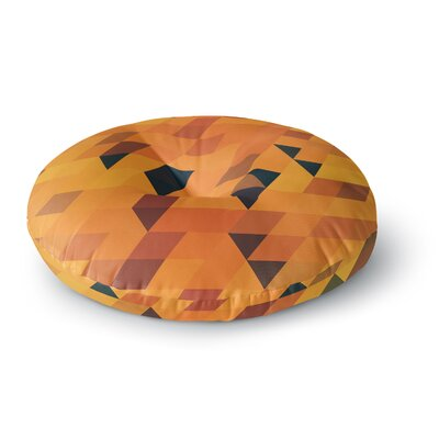 Danny Ivan Pattern Round Floor Pillow Size: 23 x 23