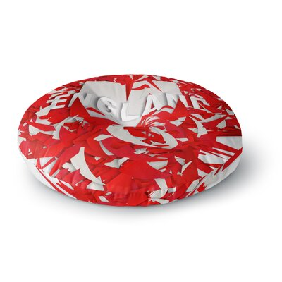 Danny Ivan England World Cup Round Floor Pillow Size: 26 x 26