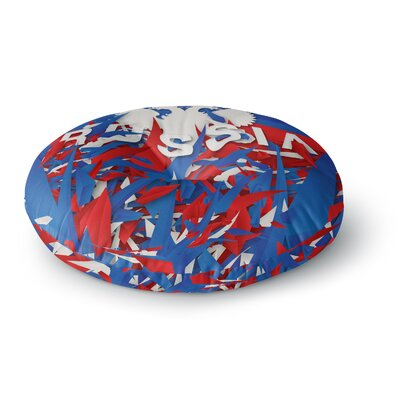 Danny Ivan Russia World Cup Round Floor Pillow Size: 23 x 23