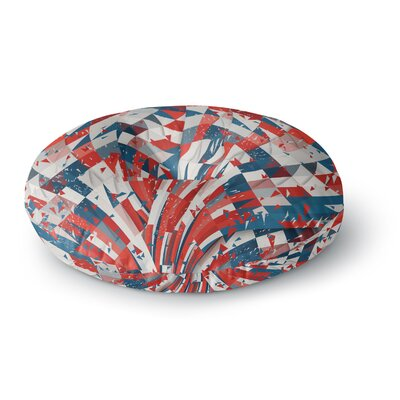 Danny Ivan Feel Again Round Floor Pillow Size: 26 x 26