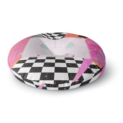 Danny Ivan K7 Cassette Round Floor Pillow Size: 23 x 23