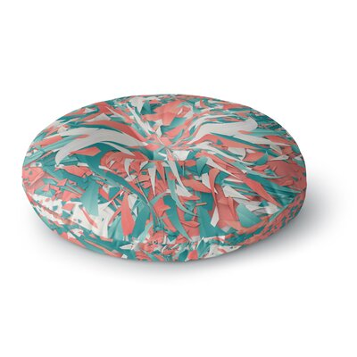 Danny Ivan Like Explosion Round Floor Pillow Size: 26 x 26