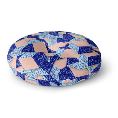Danny Ivan Friend of the Unknown Round Floor Pillow Size: 26 x 26