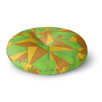 Danny Ivan This Side Round Floor Pillow Size: 26