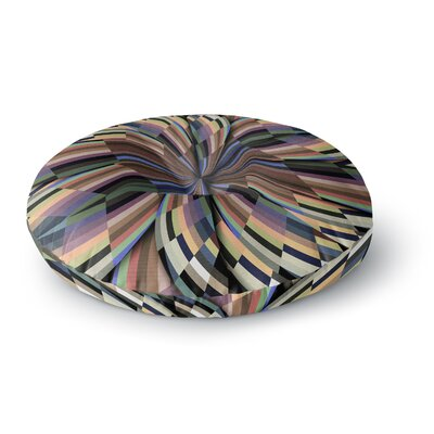 Danny Ivan Love Affair Geometric Round Floor Pillow Size: 26 x 26