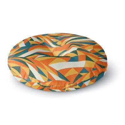 Danny Ivan Astro Naive Round Floor Pillow Size: 26 x 26