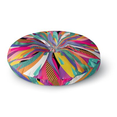 Danny Ivan Pop Abstract Round Floor Pillow Size: 23 x 23