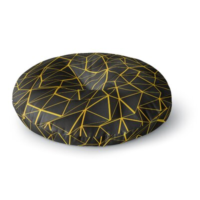 Danny Ivan Poly Round Floor Pillow Size: 26 x 26